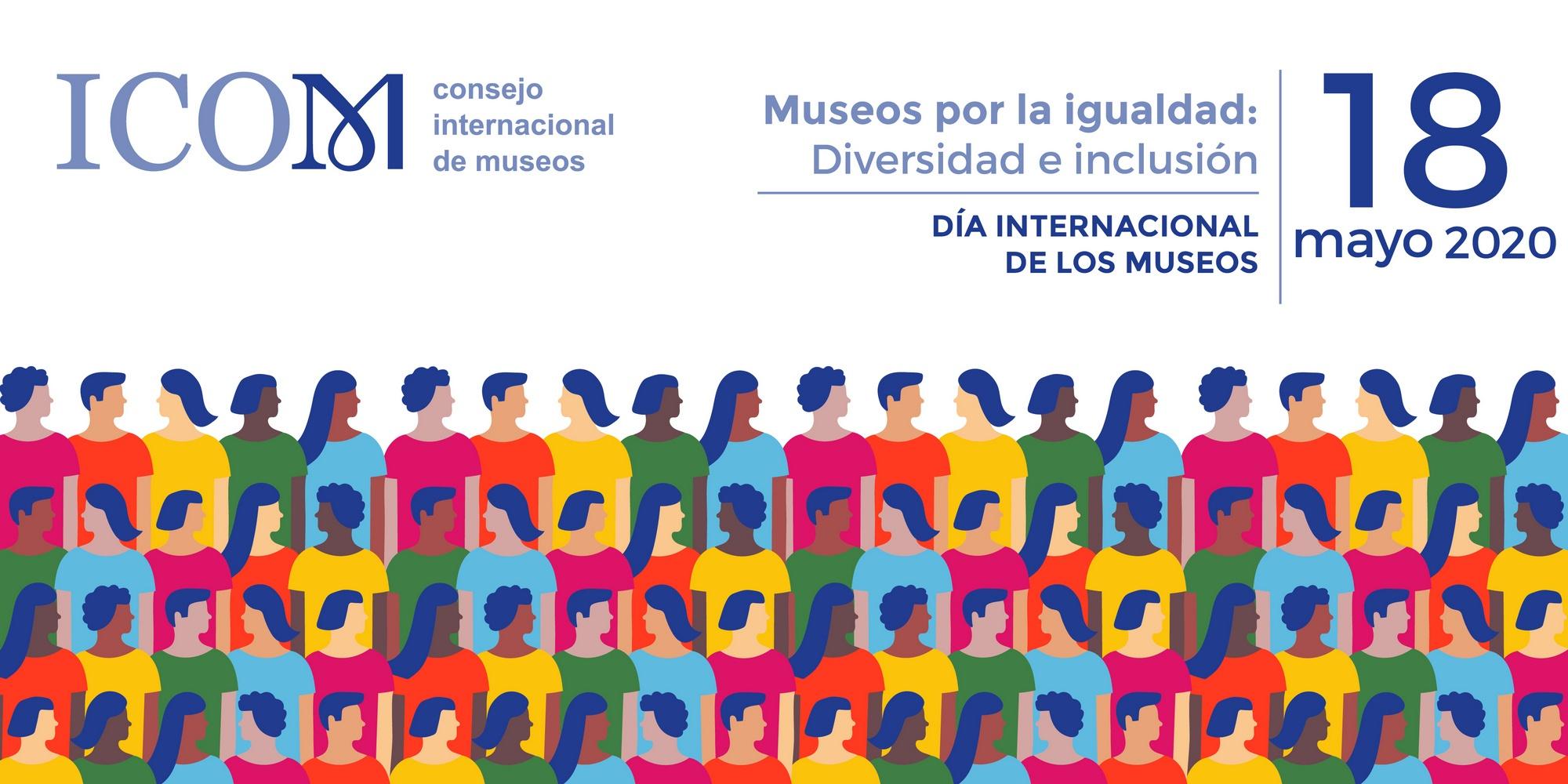 Imagen oficial del Día Internacional de los Museos 2020