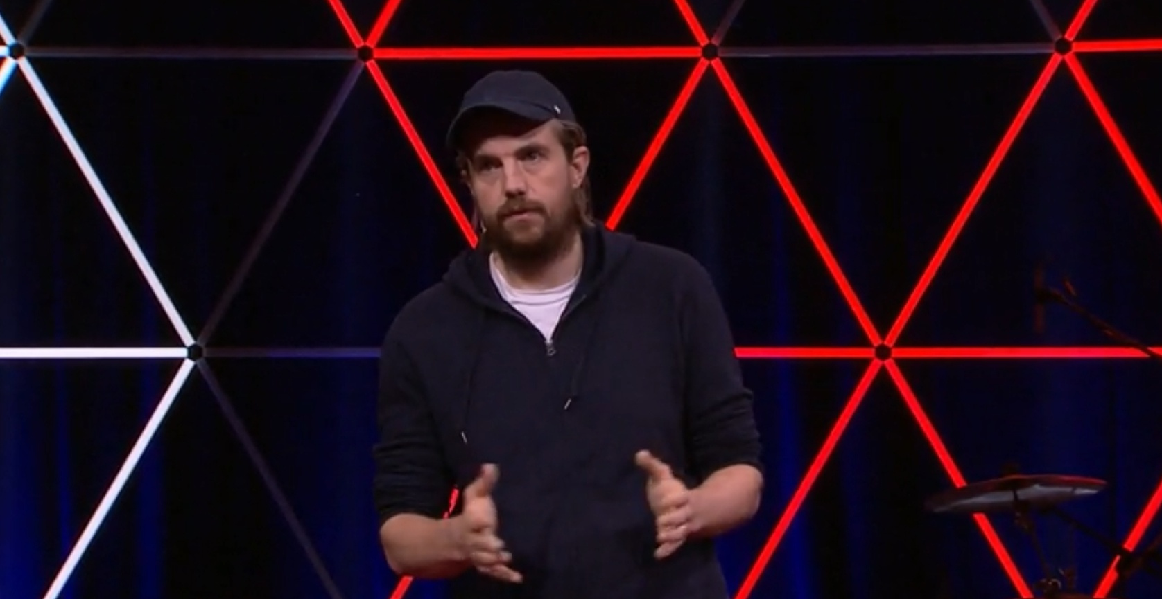 Mike Cannon-Brookes en su charla TEDx